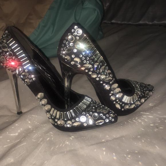 Diamond Stiletto Heels